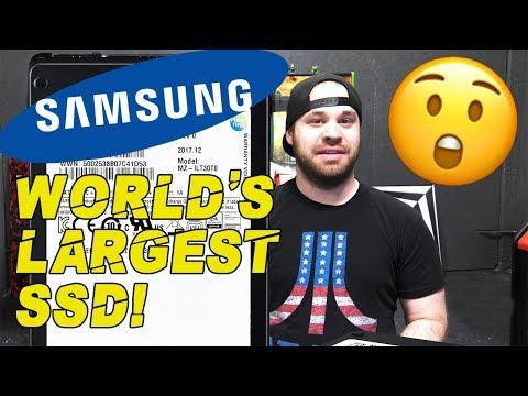 Samsung unveils world's largest 30TB SSD