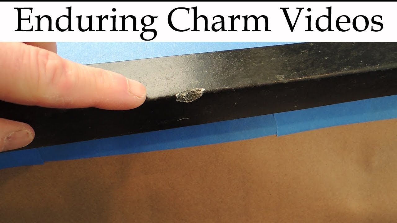 Repair A Stone Countertop With Epoxy Youtube
