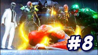SPIDER-MAN PS4 #8: NGƯỜI NHỆN GỤC NGÃ TRƯỚC 5 KẺ THÙ !!!