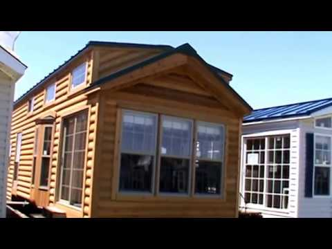 2018 Cedar Log Cabin Park Model RV CBT39 3 (tiny House)