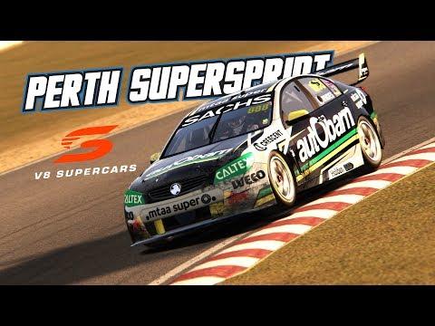 Assetto Corsa: Perth SuperSprint (V8 Supercar @ Barbagallo)