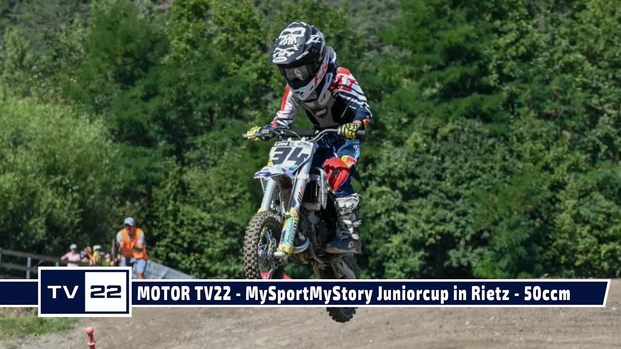 MOTOR TV22: MySportMyStory Juniorcup in Rietz - Die 50 ccm Klasse