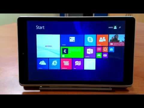 Axioo Windroid 9G+ Windows mode