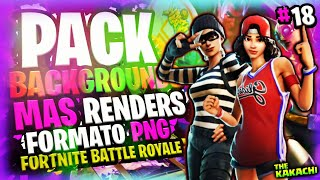 PACK PNG RENDERS #18 + BACKGROUNDS FORTNITE BATTLE ROYALE/GRATIS/ANDROID/PC