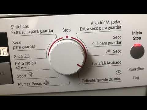 Secadora Bosch WTE8632PEE/46 Piloto Deposito Lleno