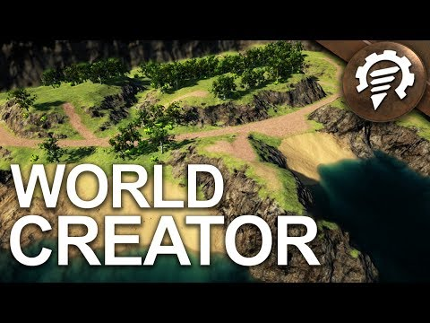 New Terrain Generating Tool - Volcanoids Dev Diary #22