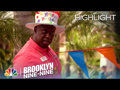 Captain Holt's Birthday Rap And Dance | Season 4 Ep. 1 | BROOKLYN NINE-NINE