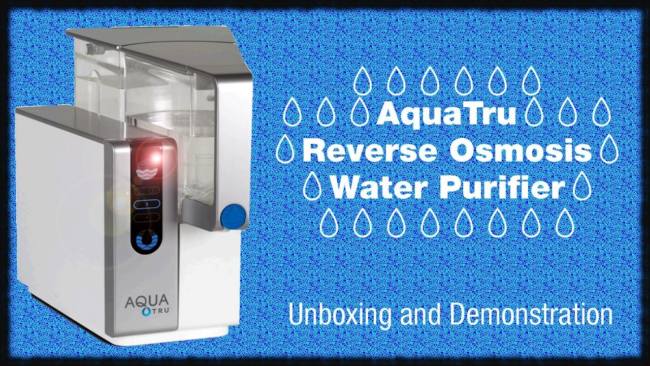 Aquatru Reverse Osmosis Water Purifier 🚰 Countertop Ro