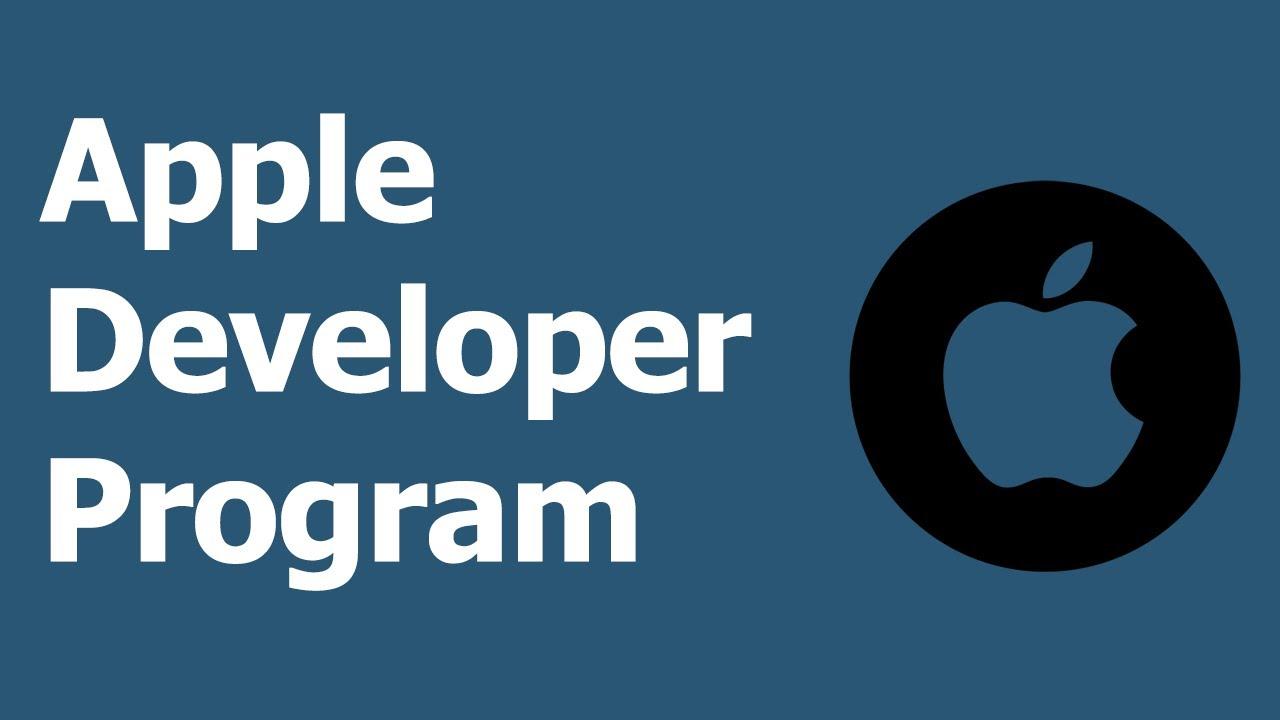 Getting Started: Overview of Apple Developer Program