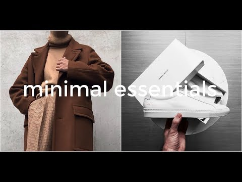 Minimal Menswear | Top 10 Essentials | Men's Fashion | Daniel Simmons