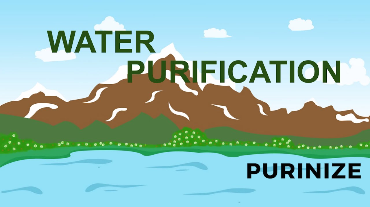 water can be purified by