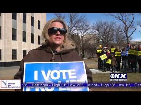 KX News: Pro-life Activists Urge Sen. Heitkamp to #ConfirmGorsuch