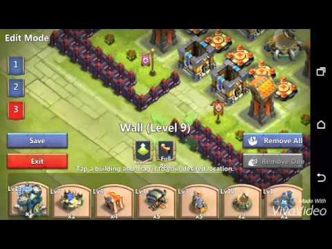 Castle Clash TH 13 HBM Base Tutorial