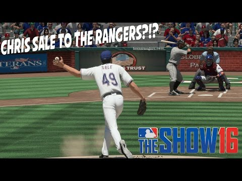 Chris Sale Traded to the Texas Rangers?!? - MLB The Show 16