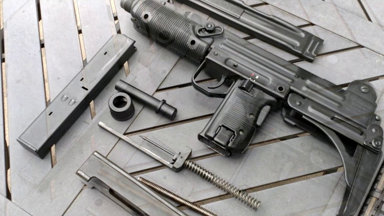 IMI/IWI UZI Disassembly/Reassembly