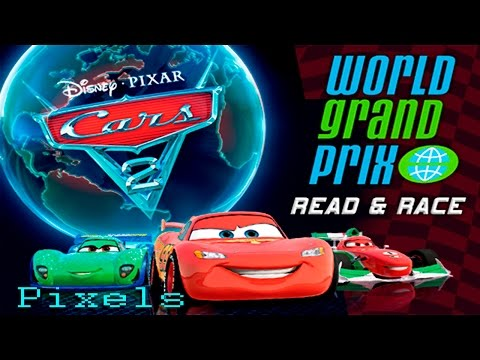 Disney Cars 2 World Grand Prix Read and Race With Lightning McQueen Story