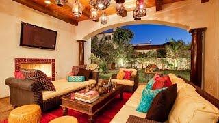 Марокканские гостиные  Экзотика и Яркие оттенки(Не удивительно, что марокканский стиль дизайна интерьера, декор и архитектура настолько богаты, ярки, разно..., 2014-08-10T07:56:25.000Z)