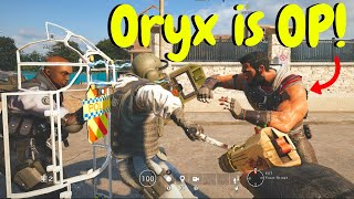 Oryx Clash Strat in Rainbow Six Siege (Void Edge Gameplay)
