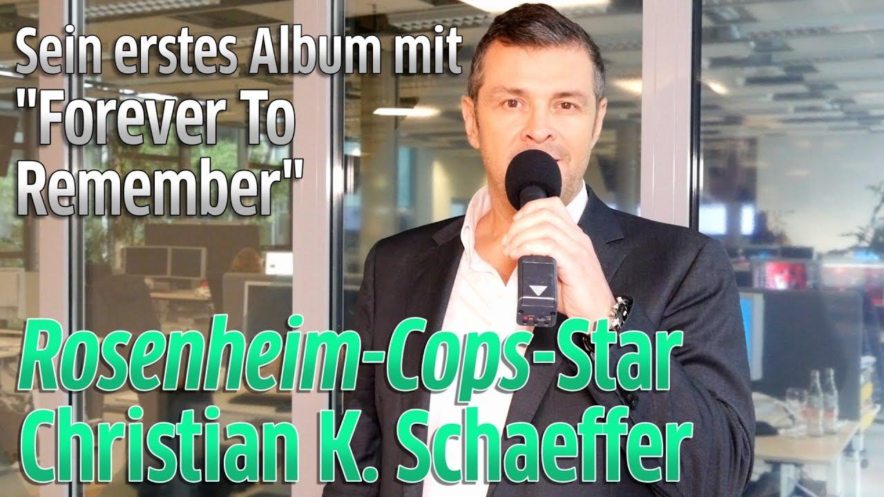 """Download Rosenheim-Cop-Star Christian K. Schaeffer singt """"Forever To Remember"""" von erstem Album"""