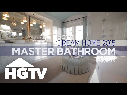 HGTV Dream Home 2015 Master Bathroom Tour