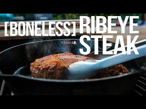 How to Cook the Best Ribeye Steak | SAM THE COOKING GUY 4K