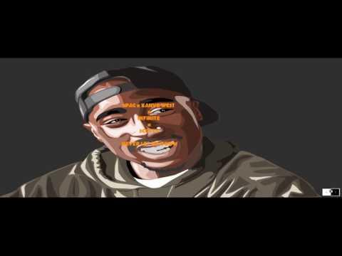 2Pac x Kanye West -