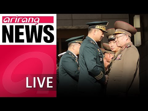 [LIVE/NEWSCENTER] Two Koreas agree to remove 11 guard posts in the DMZ - 2018.10.26