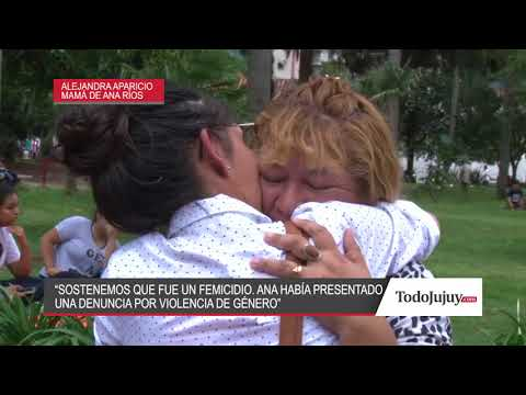 La madre de Ana Ríos sostiene fue femicidio