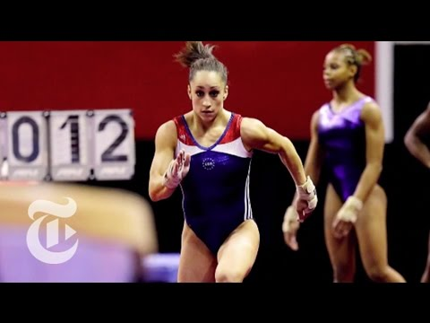 Jordyn Wieber 2012 Explains the Toughest Vault -- How to Win | The New York Times