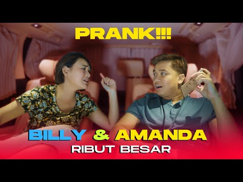 Billy Dan Amanda Akhirnya Bisa Berantem Juga Karena Prank !!!