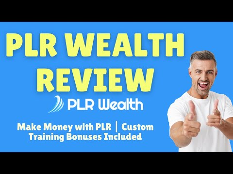 PLR Wealth Review: Make money with PLR products thumbnail