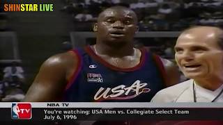 USA Dream vs Collegiate Select Team 1996.07.06 - Full Game