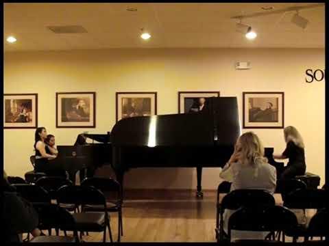 Pianist Maria (Masha) Pisarenko - Пианистка Мария (Маша) Писаренко- STEINWAY CONCERT SERIES 2019