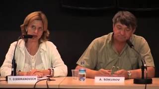 """Presentación de """"Madre e hijo"""" y """"Padre e hijo"""" / Alksandr Sokurov"""