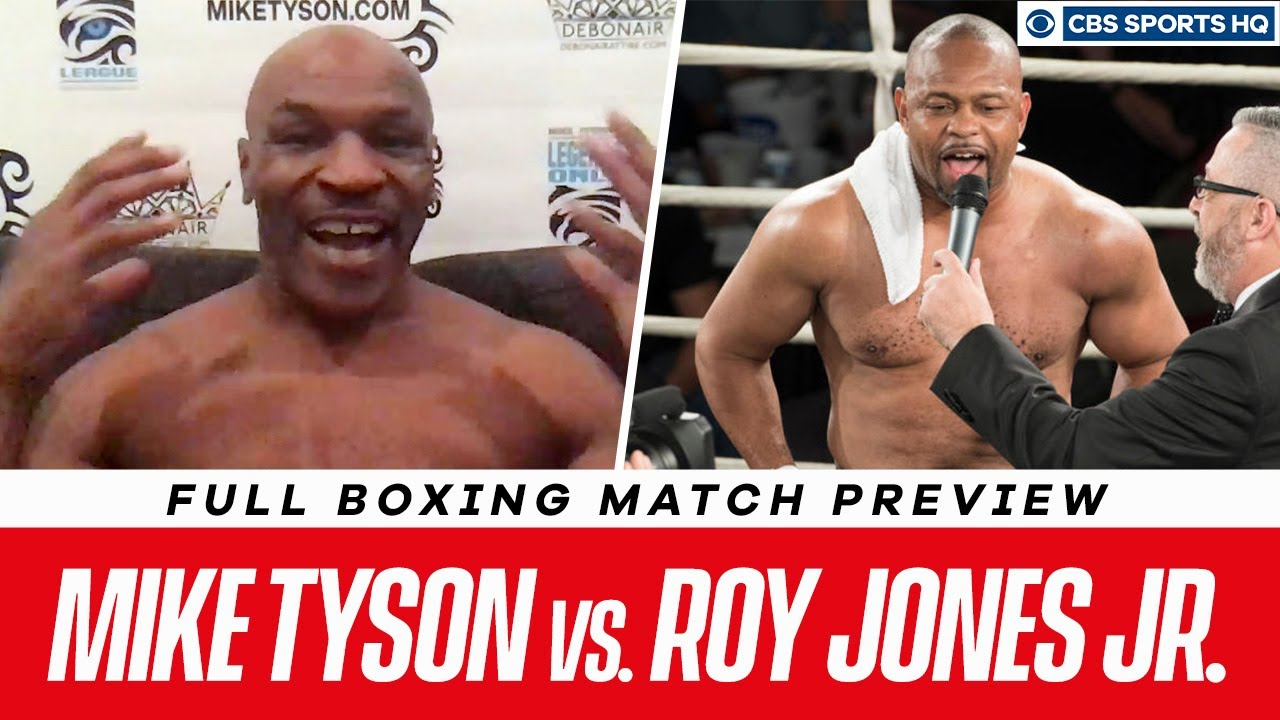 Mike Tyson vs. Roy Jones Jr. TV channel, live stream: How to watch ...
