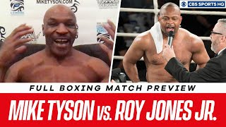 Mike Tyson vs. Roy Jones Jr. Fight Preview | CBS Sports HQ