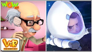 Vir Der Roboter-Junge | Hindi Cartoon-shows Für Kinder | Satellite launch | Trickfilm| Wow Kidz