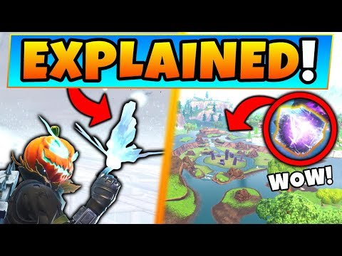 Fortnite CUBE EVENT + BUTTERFLY EXPLAINED! - 7 Clues and Theories ft. Battle Royale Gameplay! thumbnail