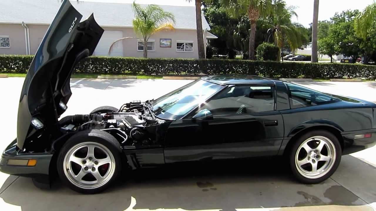 1996 C4 Corvette LT4 Walkaround YouTube