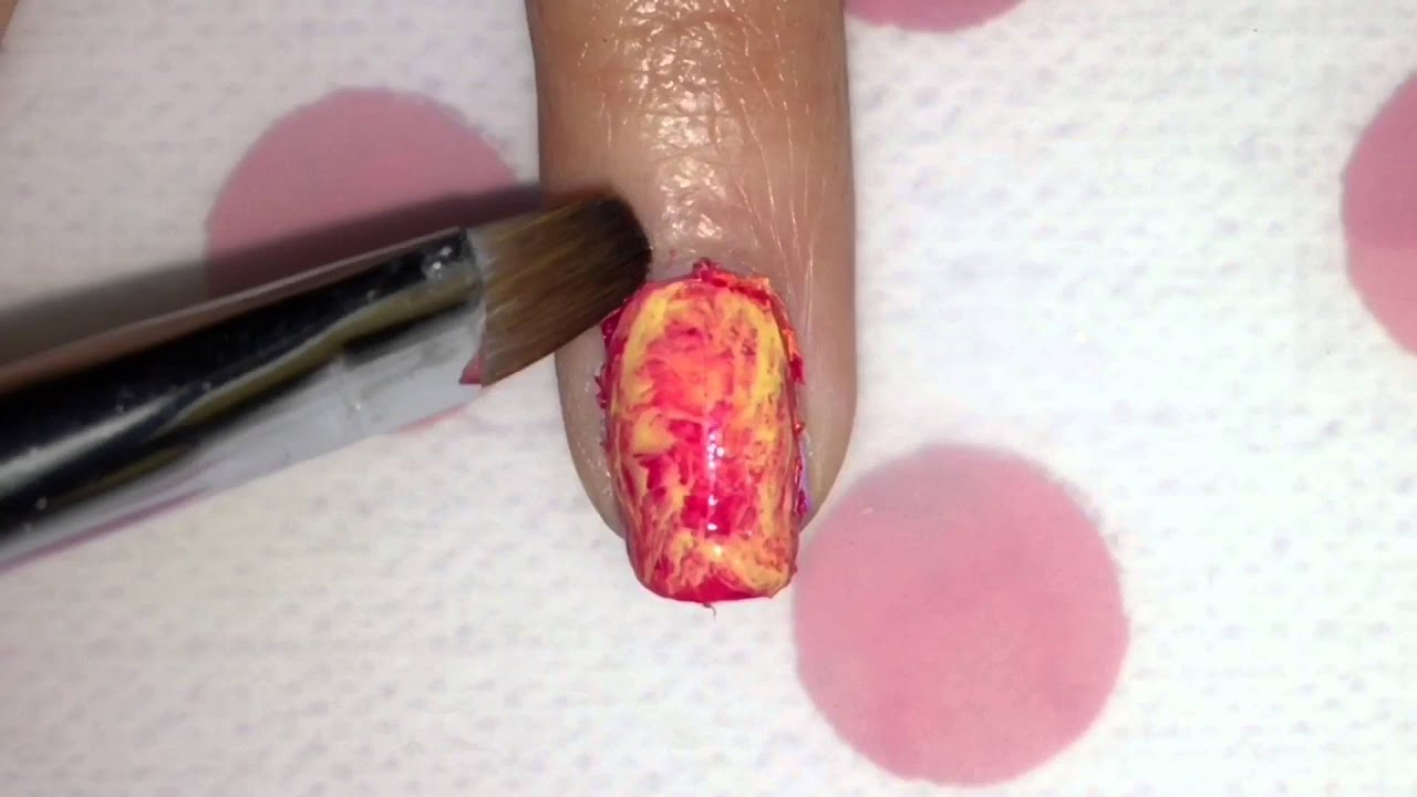 Eye Of Sauron Nail Art - YouTube