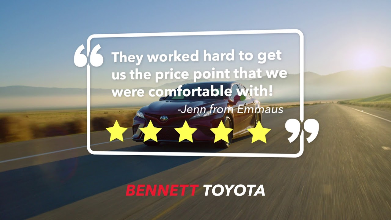 A World Of Difference At Bennett Toyota Of Allentown