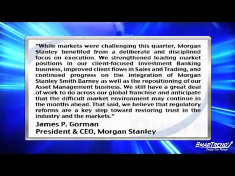 Morgan Stanley Blows By Earnings Estimates As IPO Business Is Global #1