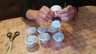 Формочки для кексов из фольги.