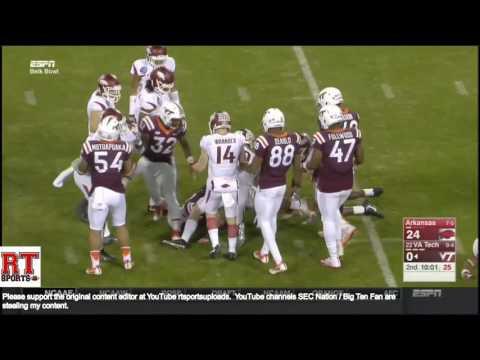 (Belk Bowl) Arkansas Razorbacks vs Virginia Tech Hokies in 30 Minutes - 12/29/16