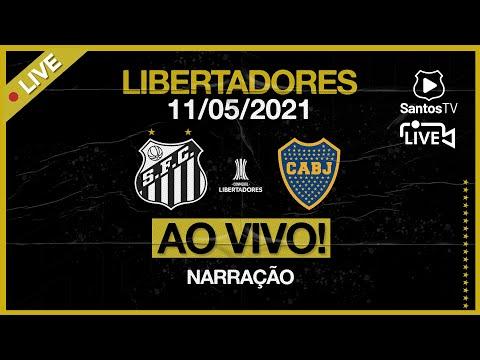 🔴 AO VIVO: SANTOS 1 X 0 BOCA JUNIORS | CONMEBOL LIBERTADORES (11/05/21)