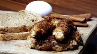 Tavada Rulo Tost - Sabah kahvaltısına tatlı atıştırmalık , pratik tarif,  roll toast recipe