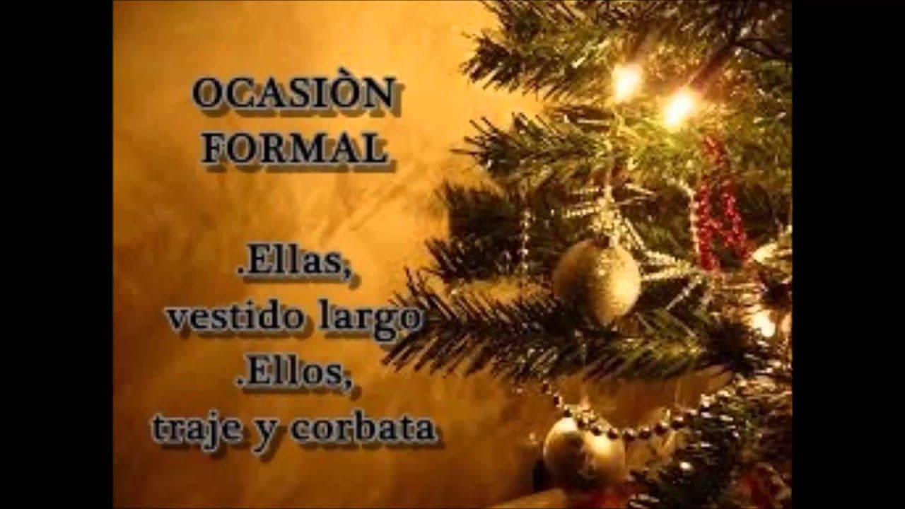 Cena de navidad invitacion youtube - Cenas para navidad 2015 ...
