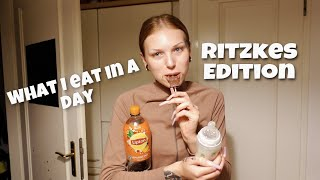 What I eat iฑ a day 🍅🥒   Ritzkes Edition