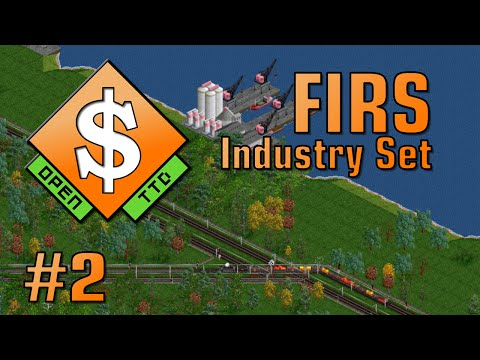 Oil Industry - OpenTTD FIRS, Ep. 2