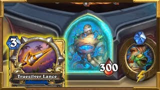 Hearthstone:Infinite Lifesteal Weapon 300HP Boss Tombs of Terror  Chapter 1:The Lost City Sir Finley